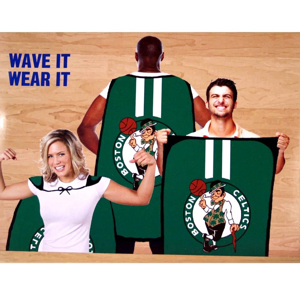 """Opportunity Buy - Boston Celtics Flags - 36""""x47"""" Fan Flags - 2 For $10.00"""