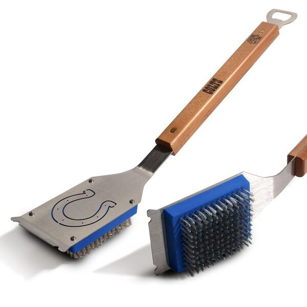 Indianapolis Colts Heavyweight Grill Brushes - 2 For $10.00