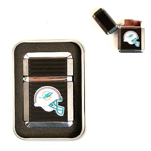 Miami Dolphins Lighter - Refillable Torch Lighters - New Logo - $6.50 Each