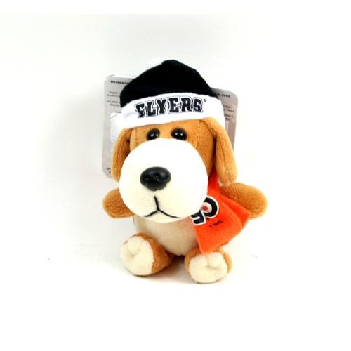 "Philadelphia Flyers Ornaments - 4"" Plush Dog Style Ornaments - 12 For $30.00"