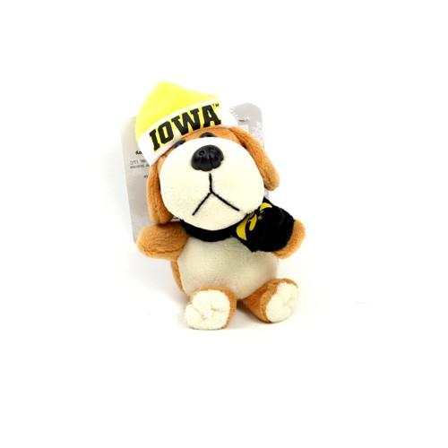 """Iowa Hawkeyes Ornaments - 4"""" Plush Dog Style Ornaments - 12 For $30.00"""