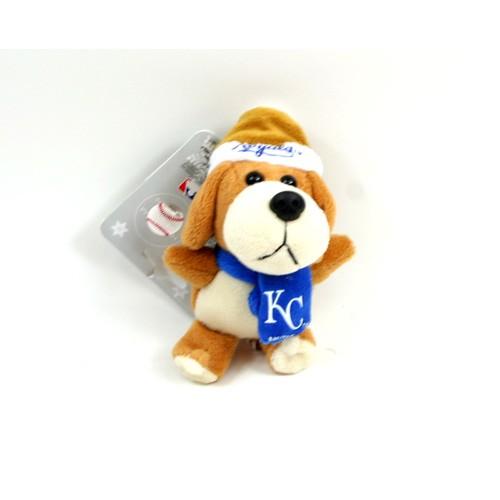 "Kansas City Royals Ornaments - 4"" Plush Dog Ornaments - 12 For $30.00"