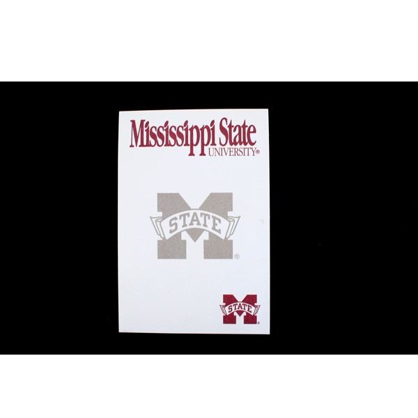 """Mississippi State Notepads - 5""""x8"""" - 40 SheetsPer Pad - 24 Pads For $12.00"""