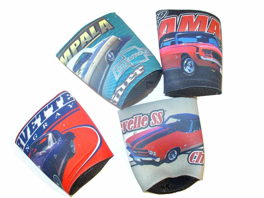 Total Blowout - Muscle Car - Neoprence Can Huggies - 24 For $12.00