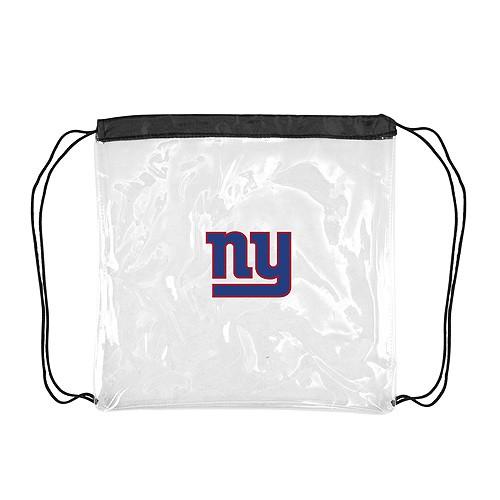 New York Giants Bags - Clear CinchSacks - 4 For $20.00