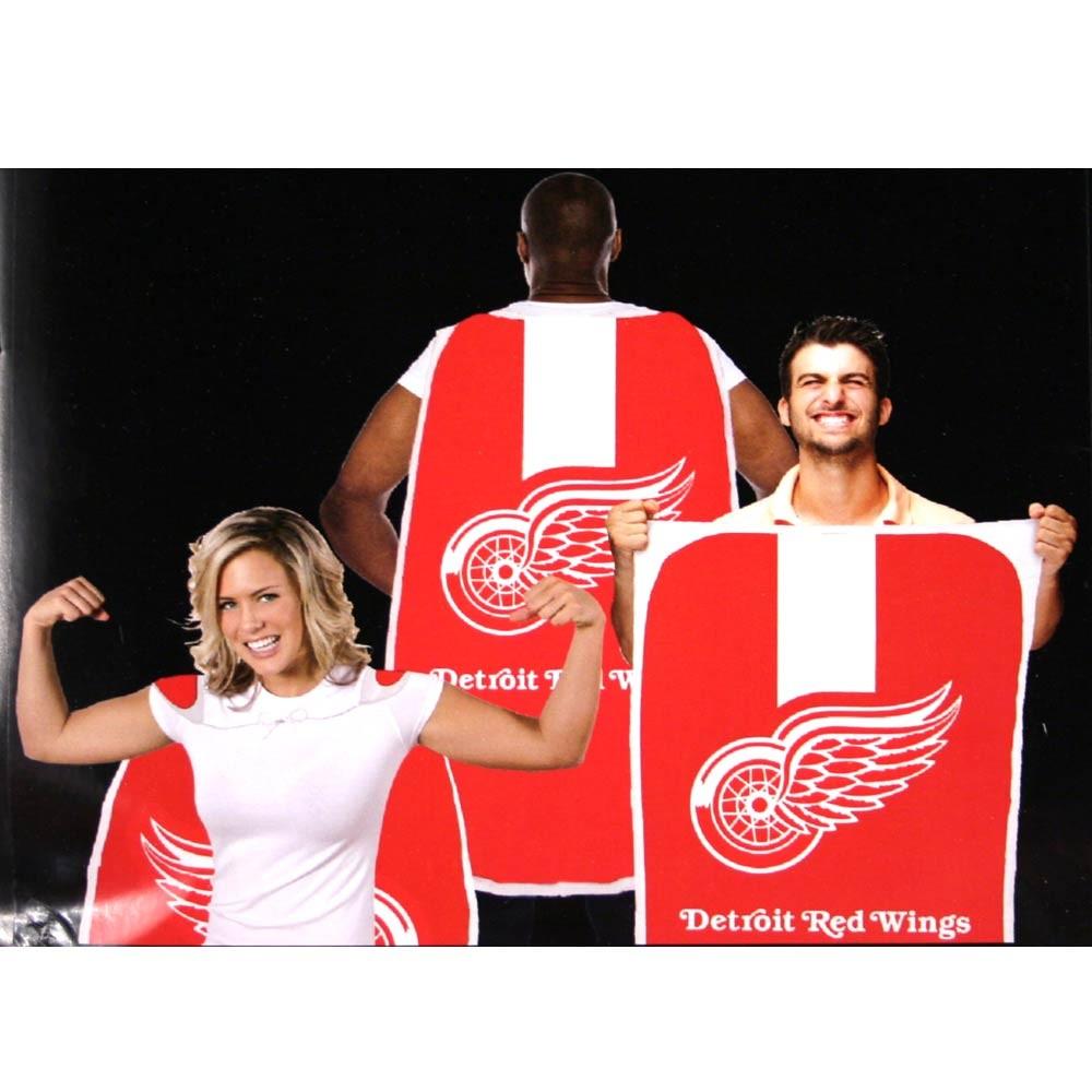 "Opportunity Buy - Detroit Red Wings Flags - 36""x47"" Fan Flags - 2 For $12.00"