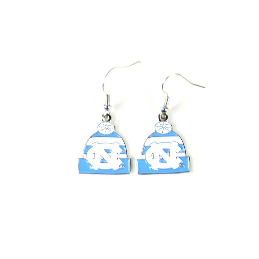 UNC Tarheels Earrings - The KNITSTER - 12 Pair For $33.00
