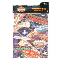 """Wholesale Harley Davidson - 12""""x18"""" Garden Size Flags - License Plate Style - $5.00 Each"""