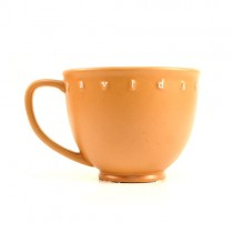 Harley Mugs - Burnt Orange 15OZ Latte Cruiser Mugs - 4 For $20.00