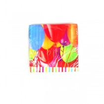 Wholesale Napkins - 16Count Packs Balloon Style - 36 Packs For $23.40