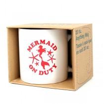 Mermaid Merchandise - Mermaid On Duty - 20OZ Coffee Mug - 6 For $15.00