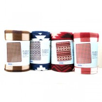 "Wholesale Fashion Blankets - 40""x50"" Southwest Style - Assorted - 12 For $24.00"