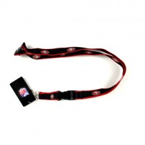 San Francisco 49ers Lanyards - The EDGE Style - 12 For $30.00