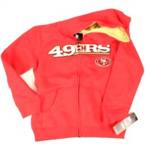 San Francisco 49ers Apparel - Youth/Children Assorted Sizes Full Zip Hoodies - 3 For $45.00