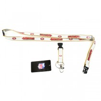 San Francisco 49ers Lanyards - The ULTRA TECH Series - 12 For $30.00