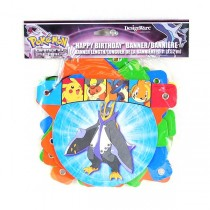 Pokemon - 5FOOT Happy Birthday Banners - 24 For $12.00
