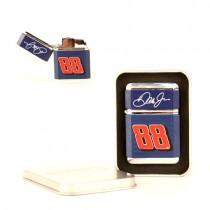 Blowout - Dale Earnhardt Jr. Merchandise - #88 Junior- NASCAR Lighter - Refillable with Metal Tin - 12 Lighter For $30.00