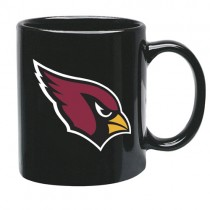 Arizona Cardinals Mugs - 15oz Black Ultra Style Mugs - 12 For $54.00
