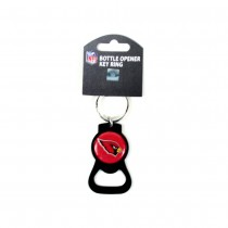 Arizona Cardinals Bottle Opener Keychain - The Blackout Series - 12 For $24.00