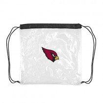 Arizona Cardinals Bags - Clear Cinch Sacks - 4 For $20.00