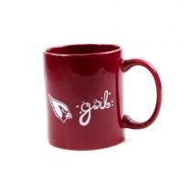 Arizona Cardinals Mug - 11oz Girl Style Mug - 12 For $36.00