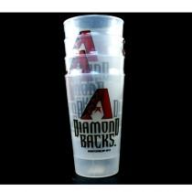 Blowout - Arizona Diamondbacks Tumblers - 4Pack 16OZ Tumbler Sets - 12 Sets For $30.00