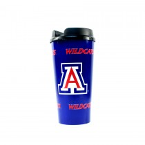 Arizona Wildcats Mugs - (Pattern May Be Different Than Pictured) - 32OZ Tumblers With Snap Tight Lid - 12 For $36.00