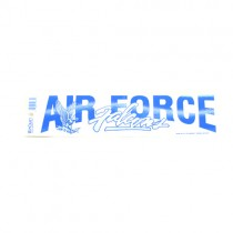"""Air Force - 3""""x12"""" Win Style Bumper Stickers - 12 For $12.00"""