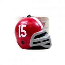 Alabama University Ornament - #15 Squish Helmet Style Ornament - 12 For $30.00