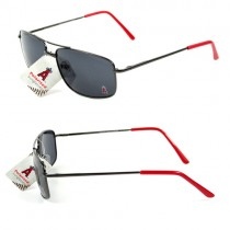 Los Angeles Angels Sunglasses - GunMetal Style - 12 Pair For $48.00