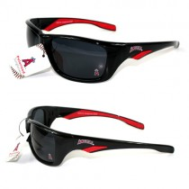 Los Angeles Angels Sunglasses - MLB04 Sport Style - Polarized - 12 Pair For $48.00