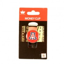 Arizona Wildcats Money Clips - Dome Style Money Clips - 12 For $24.00