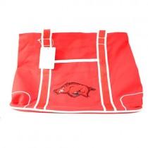 Arkansas Razorbacks Purses - Oversized - The Flat Bottom Series - 2 For $20.00