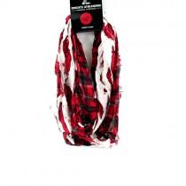 Arkansas Razorbacks Scarves - Tartan Logo Infinity Scarves - 12 For $60.00