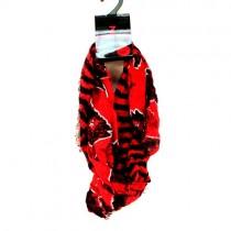 Arkansas Razorbacks Scarves - Striped Style Series1 - Infinity Scarves - 12 For $102.00