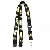 United States Army- Lanyards With Neck Release - 12 For $24.00