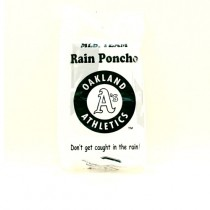 Oakland Athletics Ponchos - COOP Style - Hooded Gameday Ponchos - 100 For $250.00