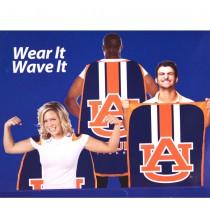 """Opportunity Buy - Auburn Tigers Flags- 36""""x47"""" Fan Flags - 2 For $12.00"""