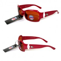 Arizona Cardinals Sunglasses - The Bombshell Style - Polarized - Red - 12 Pair For $60.00