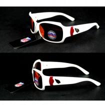 Arizona Cardinals Sunglasses - White Bombshell Style - Bombshell - 12 Pair For $60.00