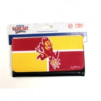 Blowout - Arizona State Wallets - 4Square Style Full Size Wallets - 12 For $30.00