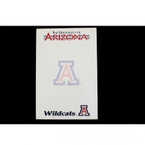 """Arizona Wildcats Note Pads - 40 Sheets Per Pad - 5""""x8"""" - 24 Pads For $12.00"""