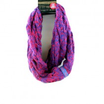 Arizona Wildcats Scarves - Duo Knit Style Infinity Scarves - 12 For $60.00