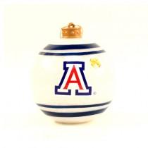 Arizona Wildcats Ornaments - Blue.White Ball Ornaments - 12 For $24.00