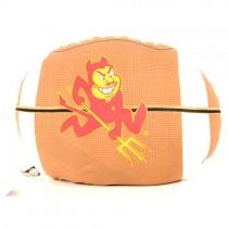 "Blowout - Arizona State Pillows - 10""x12"" Bean Pillows - Football Pillows- 12 For $24.00"
