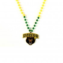 """Baylor Bears - 22"""" Game Day Beads With Medallion - $3.50 Each"""