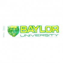 """Baylor Bumper Stickers - 3""""x12"""" Win Style - 12 For $12.00"""