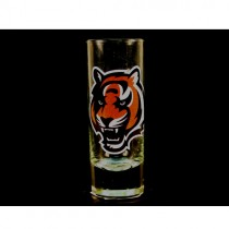 Cincinnati Bengals Shot Glasses - 2OZ Cordial HYPE Style - (Pattern May Be Different Then Pictured) - $2.50 Each