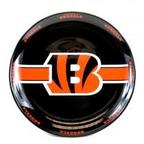"""Cincinnati Bengals Plates - 11"""" Ceramic Dinner Plates - 4 For $20.00"""
