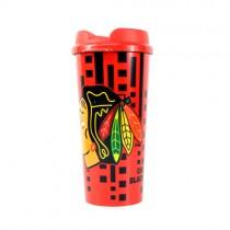 Chicago Blackhawks Mugs - Made In USA Travel Mugs - 16OZ DOT Style - 12 For $48.00